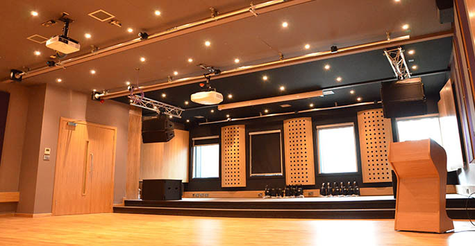 The Music Hub for rehearsal and performance