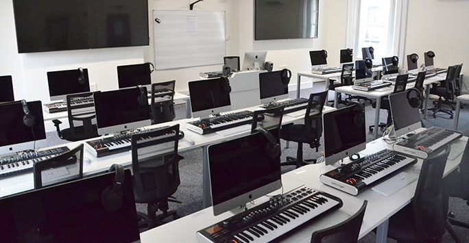 iMac Suite at the Department of Music