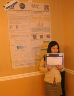 Minh Thu Dinh-Nguyen Awarded Poster Prize
