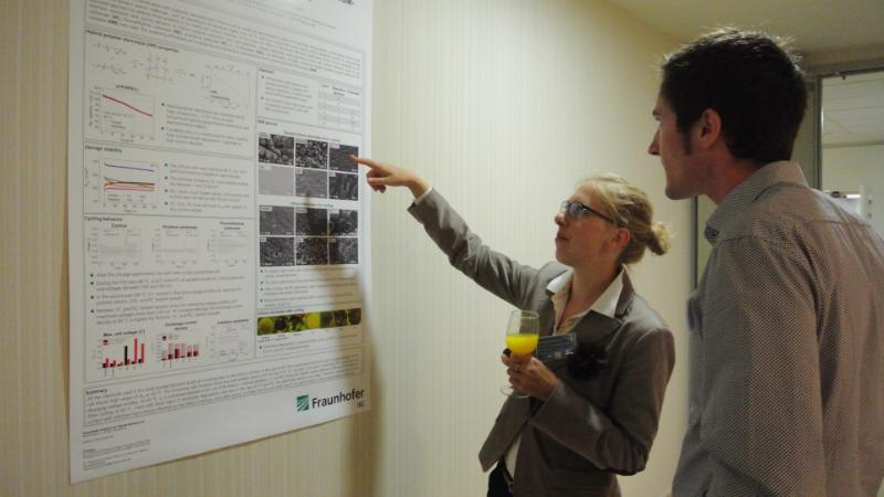 Christine Brinkmann poster prize session