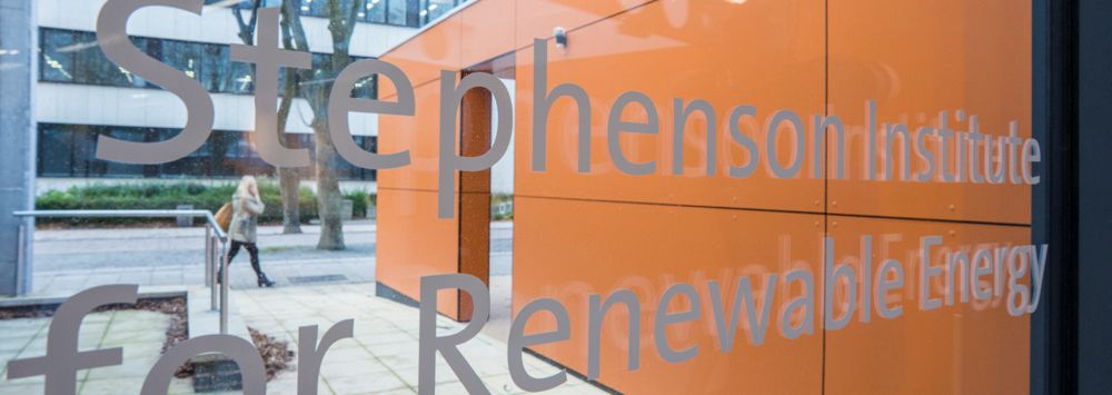 Stephenson Institute for Renewable Energy at the University of Liverpool