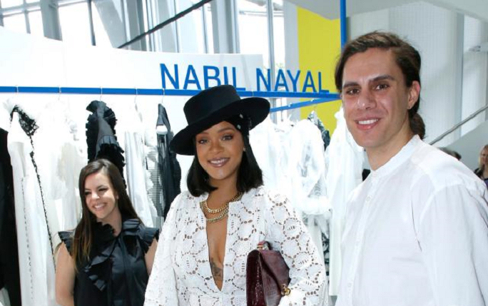 Nabil with Rihanna News story