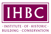 Logo for the Institute of Historic Building Conservation