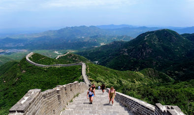 Image of Great Wall of China taken by Study Abroad student Christian Churchman
