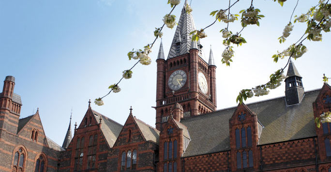 Image of the University of Liverpool Victoria Building