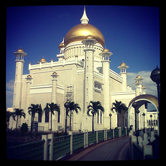 Mosque in the sunshine - study abroad