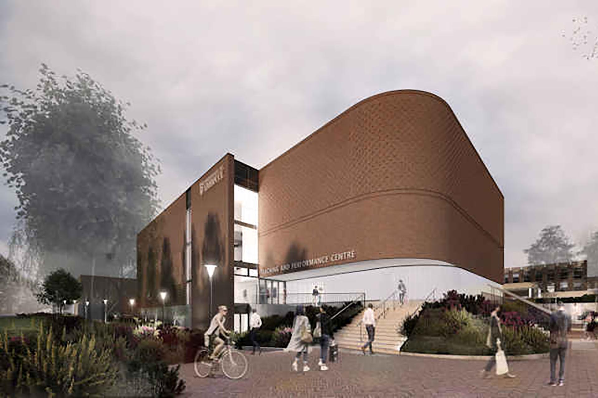 The teaching and performance centre opening 2021