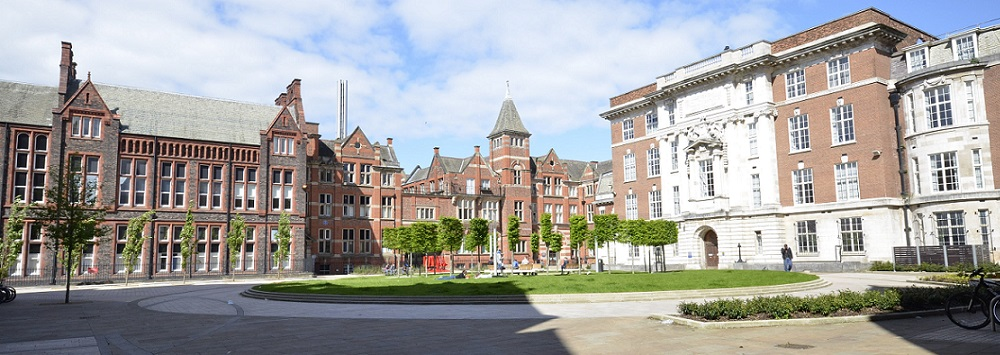 University of Liverpool campus buildings