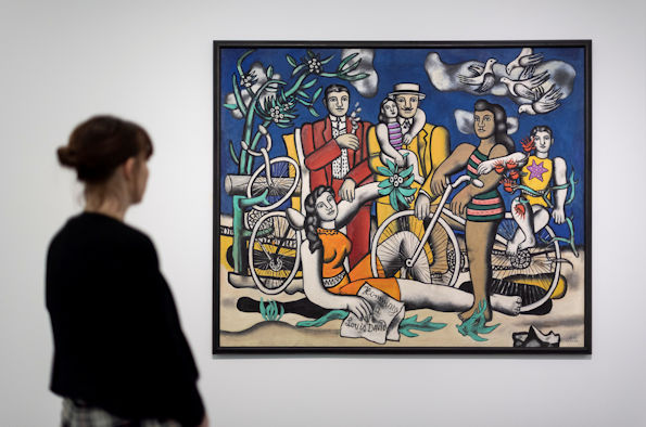 Leisure-Homage to Louis David 1948-1949 by Fernand Léger, on display in Fernand Léger: New Times. New Pleasures at Tate Liverpool from 23 November 2018 to 17 March 2019 © Tate Liverpool, Roger Sinek