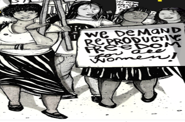 Women's Right march