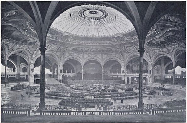 Salle des fêtes of the 1900 Paris World Fair
