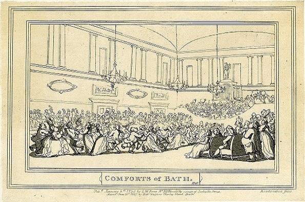 Rowlandson Comforts of Bath